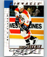 1997-98 Be A Player Autographs #195 Terry Carkner NHL Auto Panthers 04712