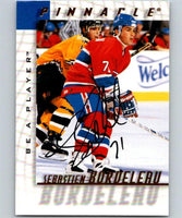 1997-98 Be A Player Autographs #211 Sebastien Bordeleau NHL Auto 04715