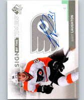 2014-15 SP Authentic - 2013-14 Sign of the Times Scott Laughton 04721