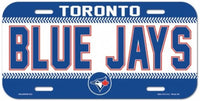 Toronto Blue Jays Durable Plastic Wincraft License Plate MLB 6