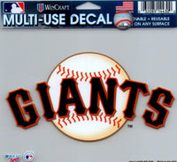 San Francisco Giants Multi-Use Decal Sticker 5