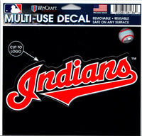 (HCW) Cleveland Indians Multi-Use Decal Sticker MLB 5