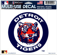 (HCW) Detroit Tigers Multi-Use Decal Sticker MLB 5