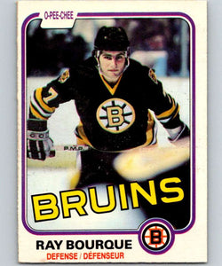 1981-82 O-Pee-Chee #1 Ray Bourque Bruins 6293