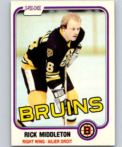 1981-82 O-Pee-Chee #2 Rick Middleton Bruins 6294