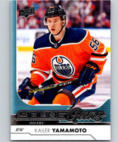 2017-18 Upper Deck #202 Kailer Yamamoto YG Young Guns Hockey NHL RC Rookie 06364