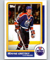 1986-87 Topps #3 Wayne Gretzky NM-MT Hockey NHL Oilers 06696