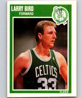 1989-90 Fleer #8 Larry Bird Celtics NBA Baseketball
