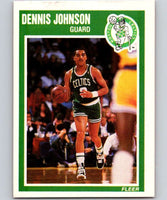 1989-90 Fleer #9 Dennis Johnson Celtics NBA Baseketball