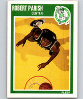1989-90 Fleer #12 Robert Parish Celtics NBA Baseketball
