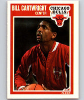 1989-90 Fleer #19 Bill Cartwright Bulls UER NBA Baseketball