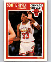 1989-90 Fleer #23 Scottie Pippen Bulls NBA Baseketball