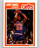 1989-90 Fleer #28 Larry Nance Cavaliers NBA Baseketball