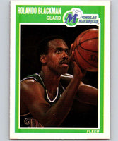 1989-90 Fleer #32 Rolando Blackman Mavericks NBA Baseketball