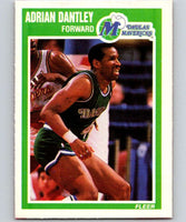 1989-90 Fleer #33 Adrian Dantley Mavericks NBA Baseketball