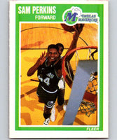 1989-90 Fleer #36 Sam Perkins Mavericks NBA Baseketball