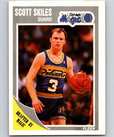 1989-90 Fleer #110 Scott Skiles RC Rookie Magic NBA Baseketball