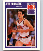1989-90 Fleer #121 Jeff Hornacek RC Rookie Suns NBA Baseketball