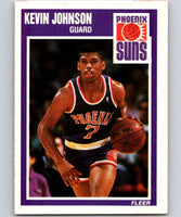 1989-90 Fleer #123 Kevin Johnson RC Rookie Suns NBA Baseketball