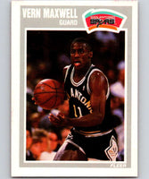 1989-90 Fleer #144 Vernon Maxwell RC Rookie Spurs NBA Baseketball