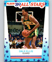 1989-90 Fleer Stickers #8 Dale Ellis NBA Basketball