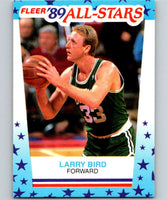 1989-90 Fleer Stickers #10 Larry Bird Celtics NBA Basketball