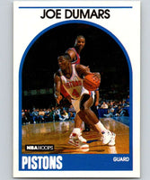 1989-90 Hoops #1 Joe Dumars Pistons NBA Basketball