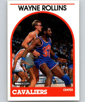 1989-90 Hoops #2 Tree Rollins Cavaliers NBA Basketball