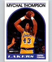 1989-90 Hoops #4 Mychal Thompson Lakers NBA Basketball