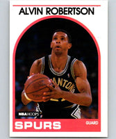 1989-90 Hoops #5 Alvin Robertson SP Spurs NBA Basketball
