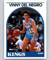 1989-90 Hoops #6 Vinny Del Negro RC Rookie Sac Kings NBA Basketball
