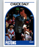 1989-90 Hoops #11 Chuck Daly RC Rookie Pistons NBA Basketball