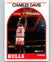 1989-90 Hoops #13 Charles Davis Bulls NBA Basketball
