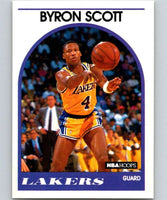 1989-90 Hoops #15 Byron Scott Lakers NBA Basketball