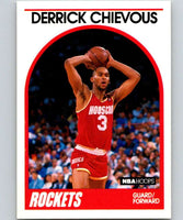 1989-90 Hoops #16 Derrick Chievous RC Rookie Rockets NBA Basketball