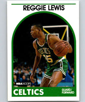 1989-90 Hoops #17 Reggie Lewis RC Rookie Celtics NBA Basketball