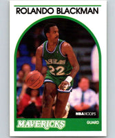 1989-90 Hoops #20 Rolando Blackman Mavericks NBA Basketball