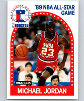1989-90 Hoops #21 Michael Jordan Bulls AS NBA Basketball
