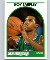 1989-90 Hoops #23 Roy Tarpley Mavericks NBA Basketball