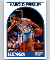 1989-90 Hoops #24 Harold Pressley Sac Kings UER NBA Basketball