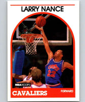 1989-90 Hoops #25 Larry Nance Cavaliers NBA Basketball