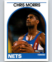 1989-90 Hoops #26 Chris Morris RC Rookie NJ Nets NBA Basketball