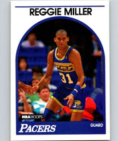1989-90 Hoops #29 Reggie Miller Pacers NBA Basketball