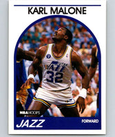 1989-90 Hoops #30 Karl Malone Jazz NBA Basketball