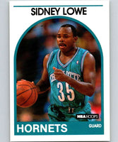 1989-90 Hoops #31 Sidney Lowe SP Hornets NBA Basketball