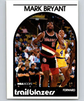 1989-90 Hoops #36 Mark Bryant RC Rookie Blazers NBA Basketball