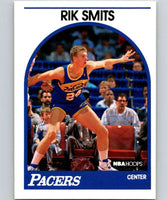 1989-90 Hoops #37 Rik Smits RC Rookie Pacers NBA Basketball