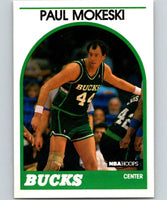 1989-90 Hoops #42 Paul Mokeski Bucks NBA Basketball