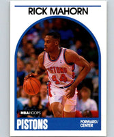 1989-90 Hoops #46 Rick Mahorn SP Pistons NBA Basketball