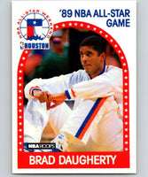 1989-90 Hoops #48 Brad Daugherty Cavaliers AS NBA Basketball